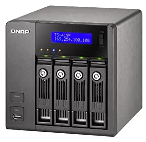 QNAP 4-Bay Desktop Network Attached Storage TS-419P