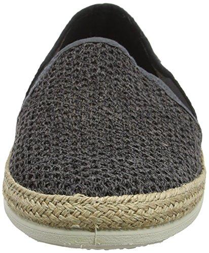 Victoria Unisex Rejilla Bicolor Negro Zapatillas Adulto Wamba By Copete Elásticos RAUqB55