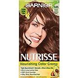 Garnier Nutrisse Nourishing Color Creme, 535 Medium Gold Mahogany Brown (Chocolate Caramel)(Packaging May Vary)