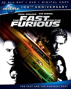 The Fast and the Furious (Blu-ray + DVD + Digital Copy)