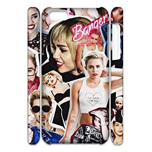 YUAHS(TM) Customized 3D Hard Back Cover Case for Iphone 5C with Miley Cyrus YAS118282