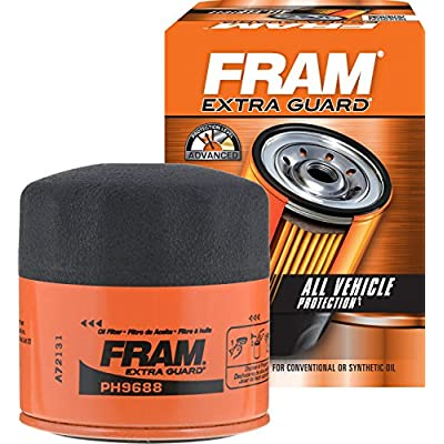 FRAM PH9688 Oil Filter-Spin On Lube: Automotive