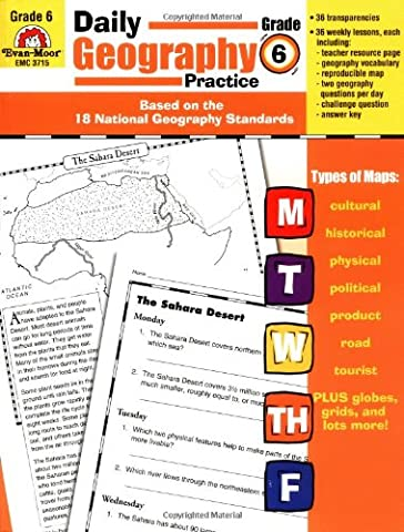 Daily Geography Practice: Grade 6 (Geography Practice)
