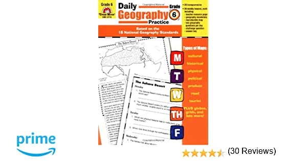 Workbook continents for kids worksheets : Amazon.com: Daily Geography Practice: Grade 6 (0023472037152 ...