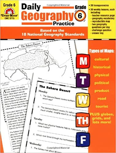 Amazon.com: Daily Geography Practice: Grade 6 (0023472037152 ...