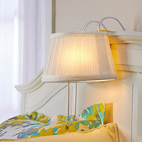Kovot Headboard Lamp Light Cream'White | Bedtime Reading Light | Lamp Measures 11