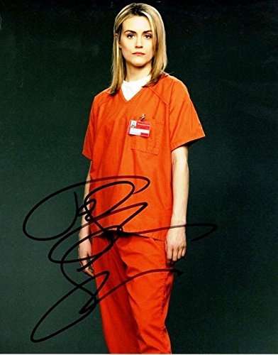 Taylor Schilling Signed - Autographed Orange is the New Black 8x10 inch Photo as Piper Chapman]()