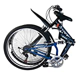 "F2C 26"" Variable Speed X-speed 7-Speed Bikes Bicycle Mountain Road for Men Women Adults (26"" 7-speed)"