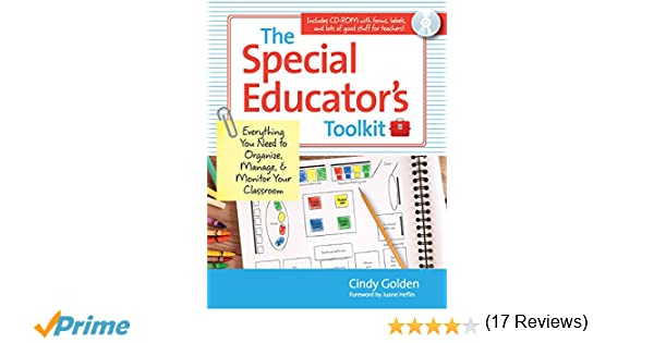 Amazon.com: The Special Educator's Toolkit: Everything You Need to ...