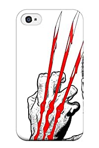 Premium Iphone 4/4s Case - Protective Skin - High Quality For Wolverine 9366466K47347184