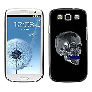 GagaDesign Phone Accessories: Hard Case Cover for Samsung Galaxy S3 - Chrome Skull by icecream design