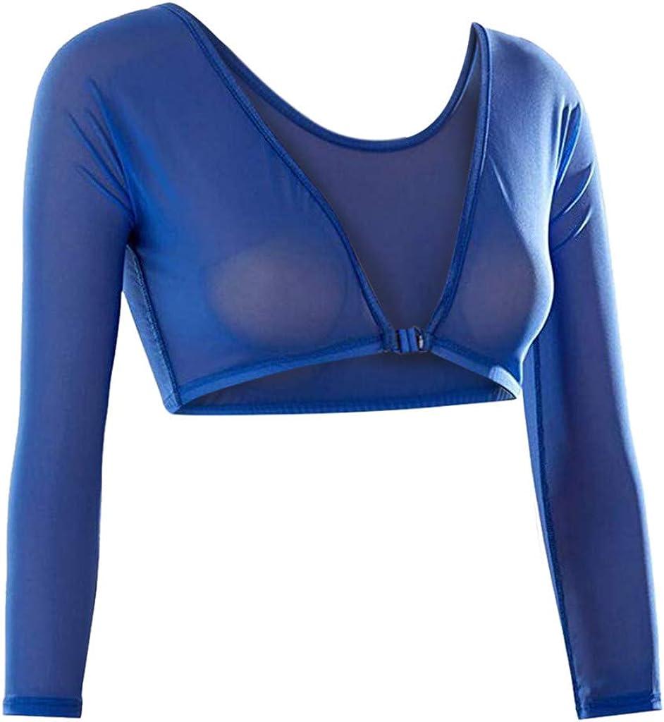 Unterhemd Lang/ärmlig Figurformende Unterw/äsche Nahtlos Strickjacke Design Shape-Ersatz KartoffeL Arm Shapewear Damen