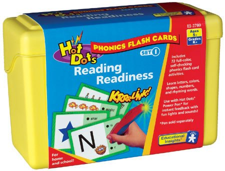 - Hot Dots Phonics Flash Cards - Reading Readiness, Teaching Toys, 2017 Christmas Toys