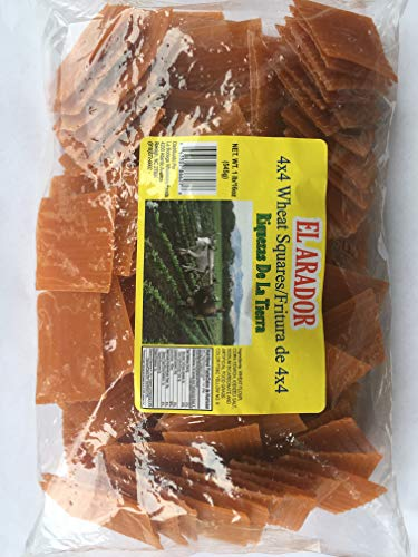 Duritos Pellets Fritura 4x4 4x4 Wheat Squares Snacks Pasta Mexican Traditional Fried Snacks Wheat Snacks 1 pound