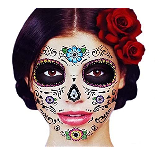 Dia De Los Muertos Face Paint Kit