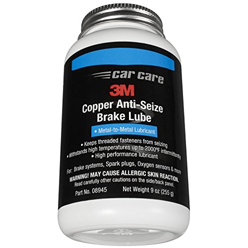 3M 08945 Copper Anti Seize Brake Lube - 9 fl. oz 08946 Clear Silicone Paste - 8 oz.