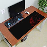 Farraige® Large XXL Gaming Mouse Pad with Nonslip Base, Thick, Comfy, Waterproof & Foldable Mat for Desktop, Laptop, Keyboard, Consoles & More, Random Colour