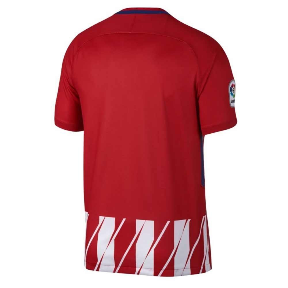 2017-2018 Atletico Madrid Home Football Soccer T-Shirt Camiseta ...
