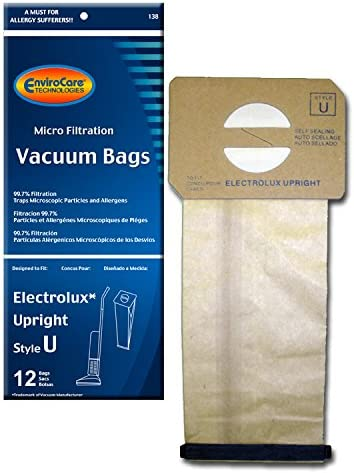 Discovery, Prolux 24 Generic Electrolux Upright Style U Allergy Vac bags Epic