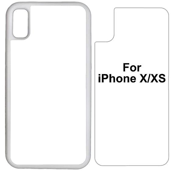 half off 705a0 85c29 Amazon.com: 25 x Sublimation Rubber White case Compatible with ...