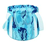 George Jimmy Foldable Wash Basin, Portable Water Fishing Bucket For Camping/Travel-03