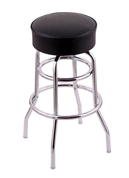 Holland Bar Stool Company C7C125BlkVinyl Classic Series Swivel Stool