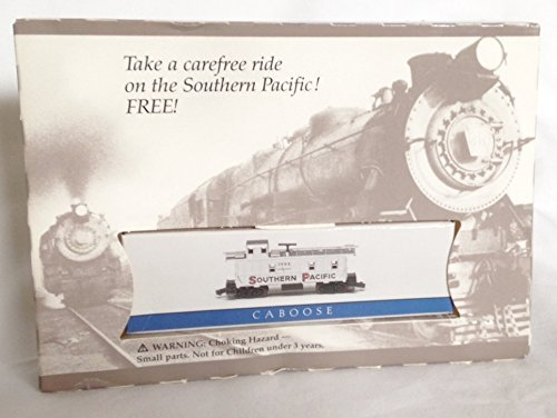 Used, 1995 Southern Pacific Railroad N Scale Caboose Train for sale  Delivered anywhere in USA