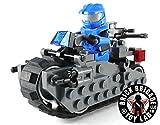 Brick Brigade Custom LEGO Combat Space Cycle Model Set w/Rider Minifig