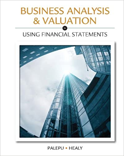 Amazon business analysis valuation using financial statements business analysis valuation using financial statements 5th edition kindle edition fandeluxe Choice Image