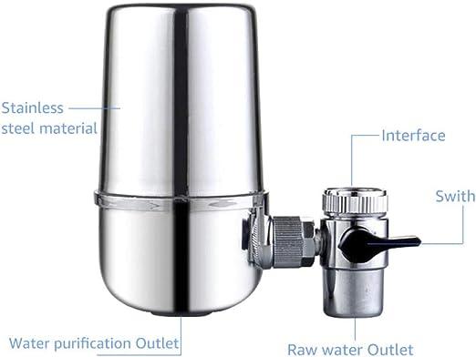Filtro de grifo de cocina Agua de piedra Purificadores de agua para el hogar eliminan contaminantes del agua purificadores de agua purificadores de agua alcalina purificadores de agua: Amazon.es: Hogar