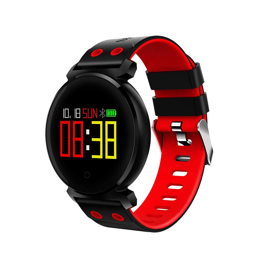 Health Tracker, Color Screen Intelligent Heart Rate Blood Pressure Monitoring Bracelet - Sleep Quality Record Smart Bluetooth Bracelet