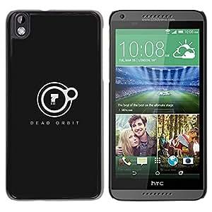 // PHONE CASE GIFT // Duro Estuche protector PC Cáscara Plástico Carcasa Funda Hard Protective Case for HTC DESIRE 816 / Orbit Dead /