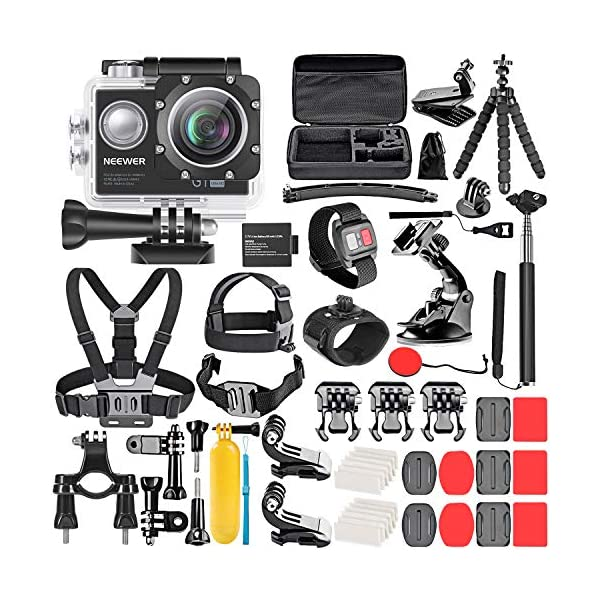 action camera kits and accessories