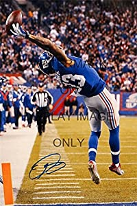Odell Beckham Jr Autograph Replica Poster - The Catch that Started the Legend
