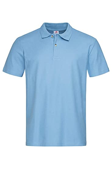 Stedman - Polo para Hombre Azul Claro Small: Amazon.es: Ropa y ...