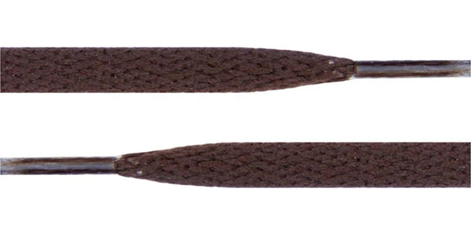 "45"" Brown 5/16 Flat Shoelace For All WoMens Canvas Shoes"