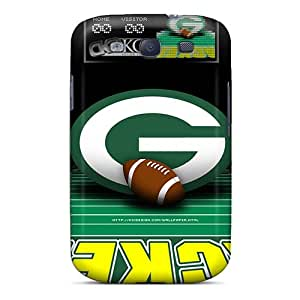 Samsung Galaxy S3 SRA11881xDSq Allow Personal Design Fashion Green Bay Packers Image Shock Absorption Hard Cell-phone Cases -JonathanMaedel
