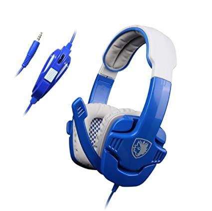 CHESUN PS4 Xbox Un Juego Estéreo De Juegos Surround Auriculares, Orejeras De Memoria Suave,