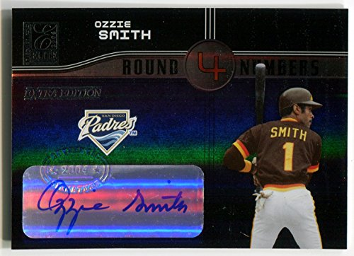 2004 Baseball Hall Of Fame - 2004 Donruss Elite Extra Edition OZZIE SMITH