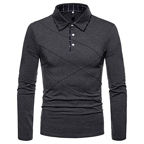 Blouse Button Polo Shirt Clearance AfterSo Men Casual