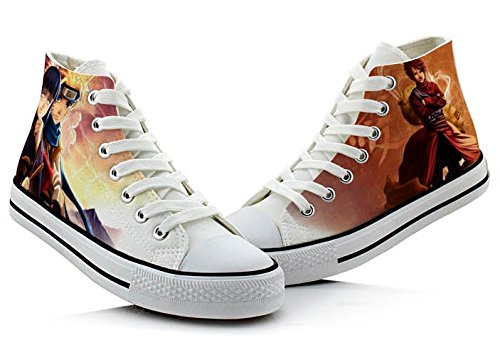 Naruto Cosplay Chaussures Toile Chaussures Sneakers Colorées 4
