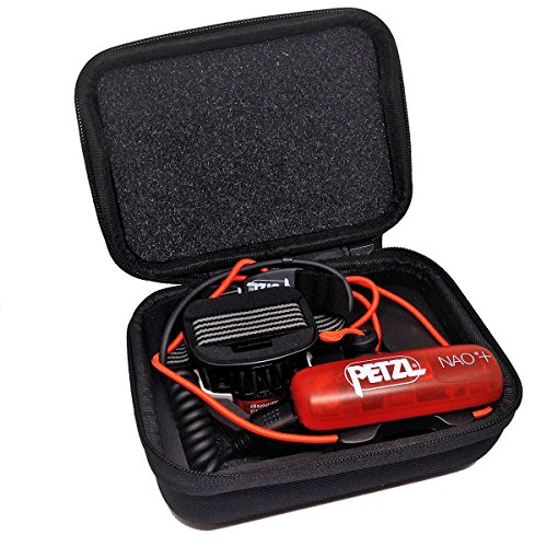 OmniProGear Molded Zippered Case for Petzl NAO headlamp (all models) by OmniProGear