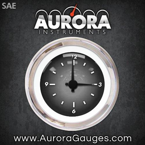 Aurora Instruments (GAR1105ZEXOABCC Pulsar Gray Clock Gauge