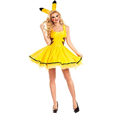 Trajes M-XLhalloween para Mujeres Sexy más tamaño Pokemon ...