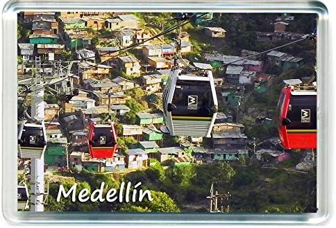 H027 Medellín Koelkast MAGNETColombia Reizen Koelkast Magneet
