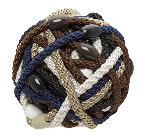 L. Erickson Narrow Grab & Go Pony Ball, Neutral, Set of Thirty - Exceptionally Secure with Gentle Hold