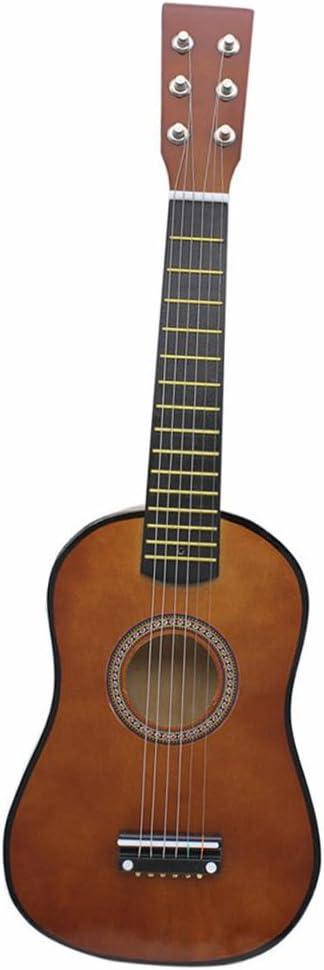B Baosity Guitarra Acústica de 23 Pulgadas a 6 Cuerdas para niños ...