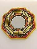 Large Feng Shui Convex Baqua Mirror 8''