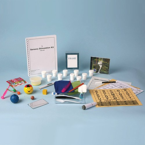 Stimulation Sensory Activities (Ableware 718200000 Sensory Stimulation Activities Kit)