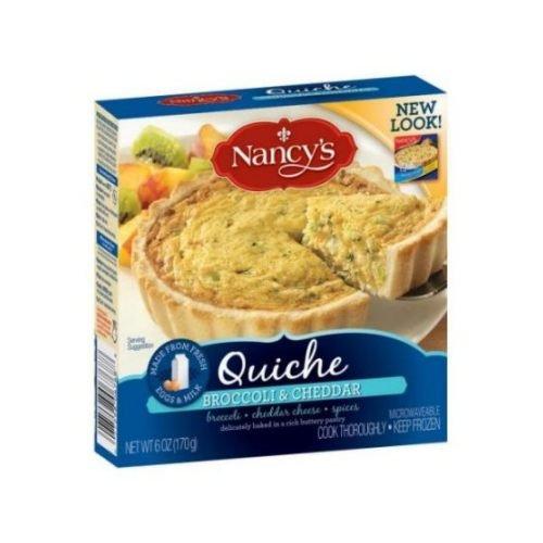 Broccoli Quiche (Nancys Broccoli Cheddar Quiche, 6 Ounce -- 12 per case.)